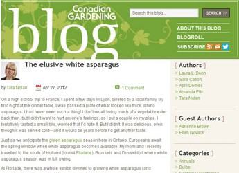 Canadian Gardening feature