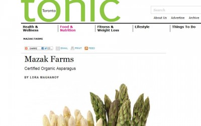 Tonic Magazine feature