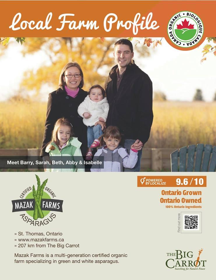 Big Carrot Farmer Profile - Mazak Farms