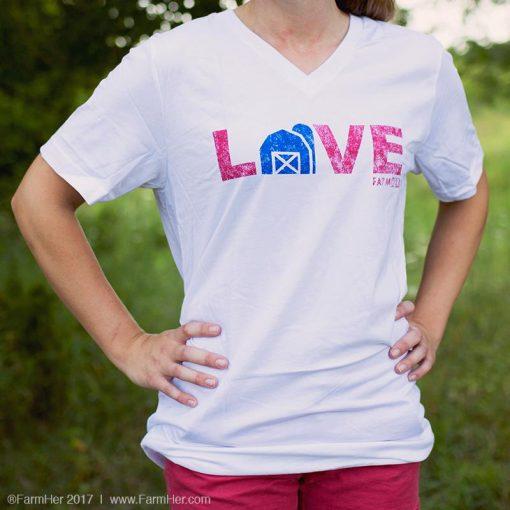 Farmer Love Barn Shirt