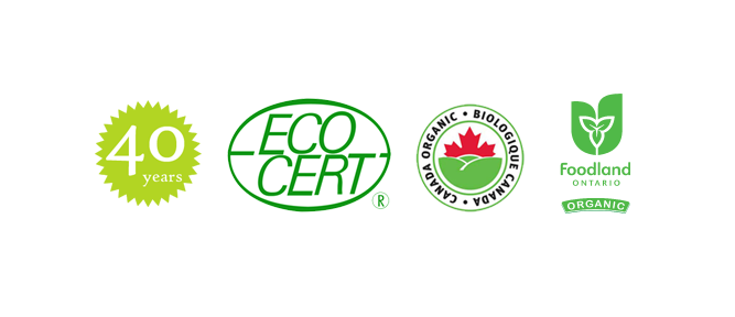 40 years - eco-cert - foodland