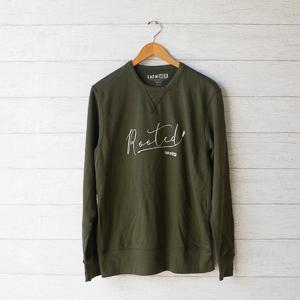 rooted crew sweatshirt